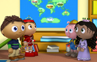 PBS Kids image of Super WHY! show