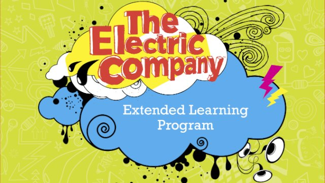 the electric company extended learning program
