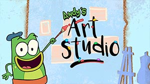 andy's art studio