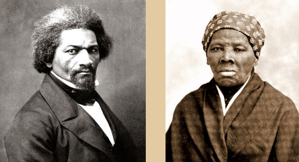 Frederick Douglass and Harriet Tubman