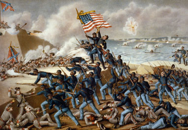 In this social studies-themed literacy lesson, middle school students write informative or explanatory texts describing the role of African Americans during the Civil War. (Lexile level: 1180)