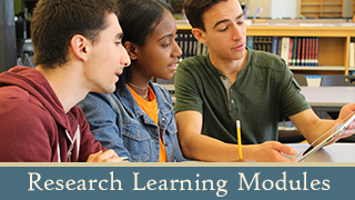 Primary Source Research Modules