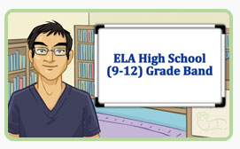 home page image of high school module about text-dependent questions